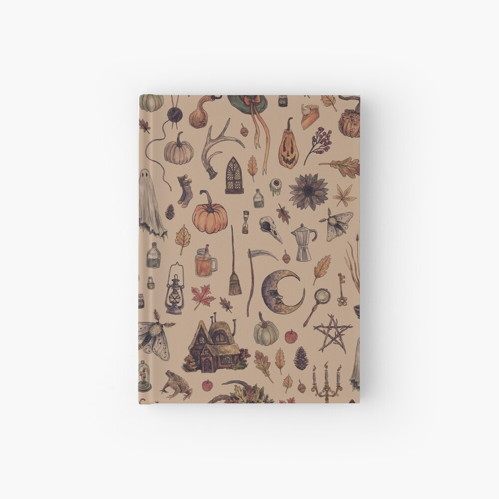 Rustic Brown Cozy Crone Hardcover Journal