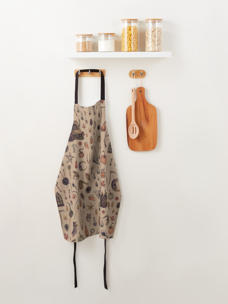 Alternate view of Rustic Brown Cozy Crone Apron