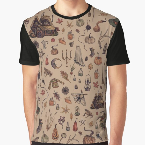 Rustic Brown Cozy Crone Graphic T-Shirt