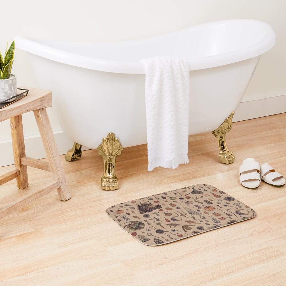 Rustic Brown Cozy Crone Bath Mat