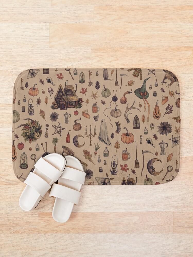 Alternate view of Rustic Brown Cozy Crone Bath Mat