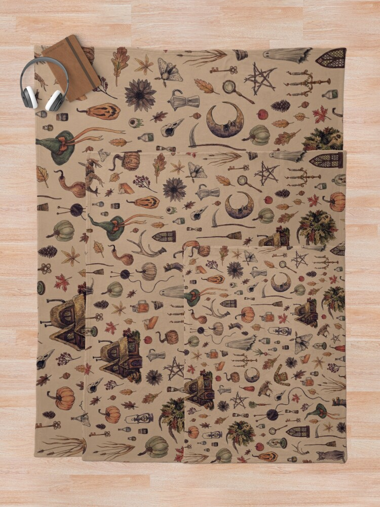 Alternate view of Rustic Brown Cozy Crone Throw Blanket