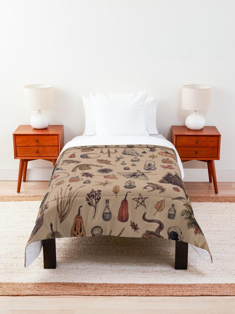 Alternate view of Rustic Brown Cozy Crone Comforter