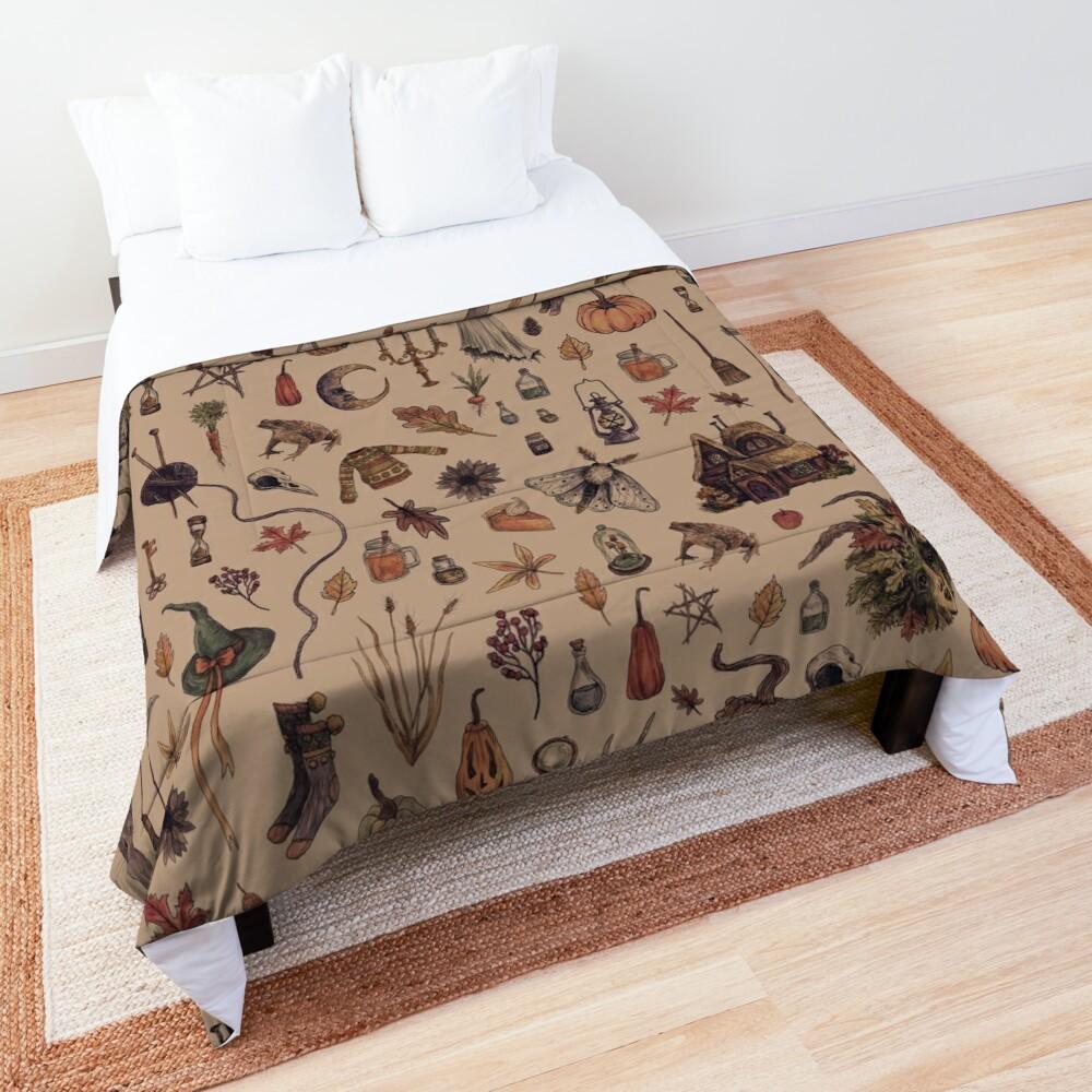 Rustic Brown Cozy Crone Comforter