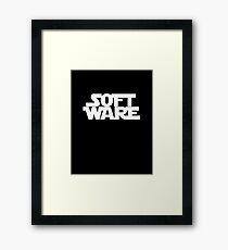 Soft Ware Framed Print