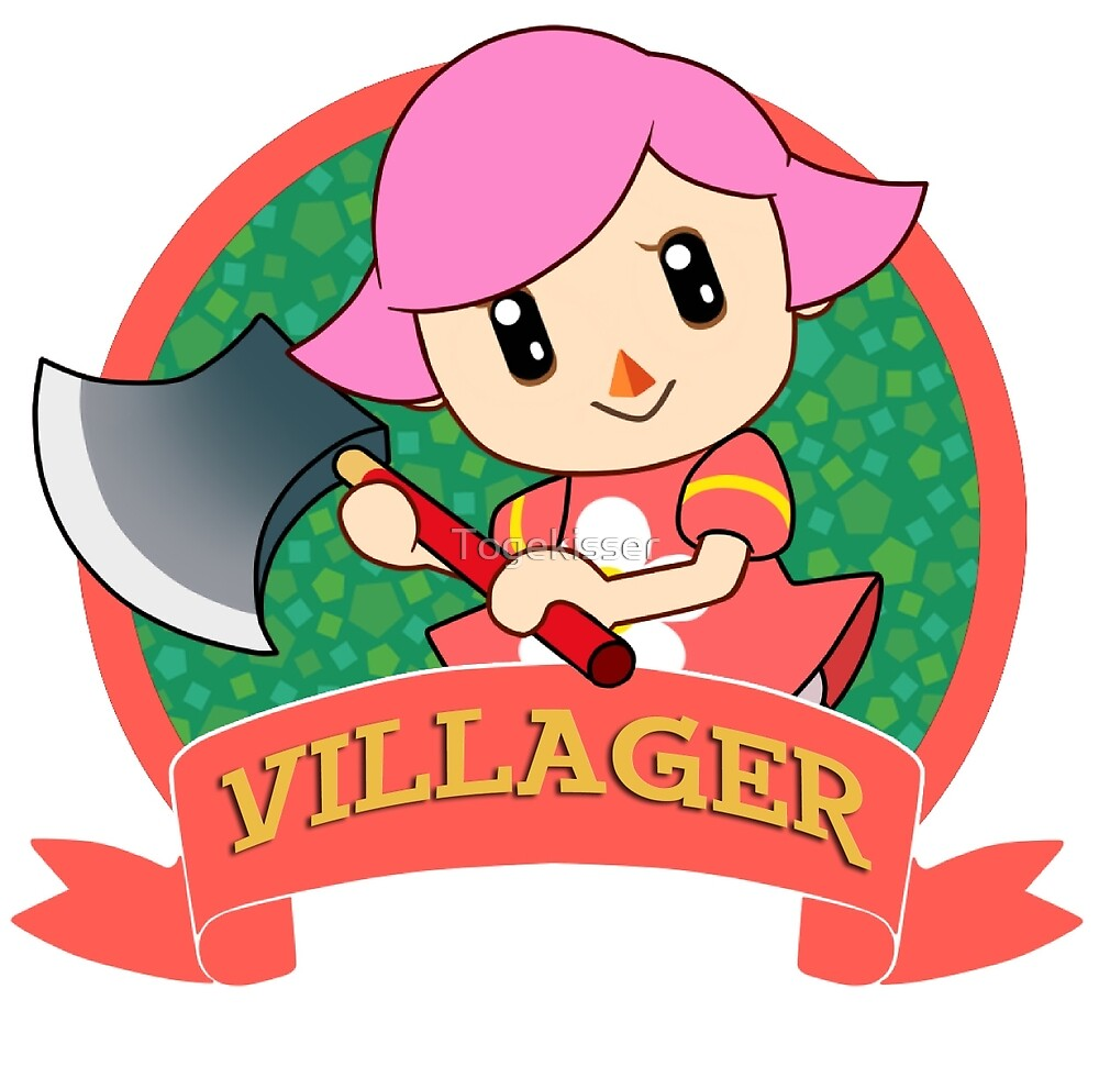 """Animal Crossing: Girl Villager"" by Togekisser   Redbubble"