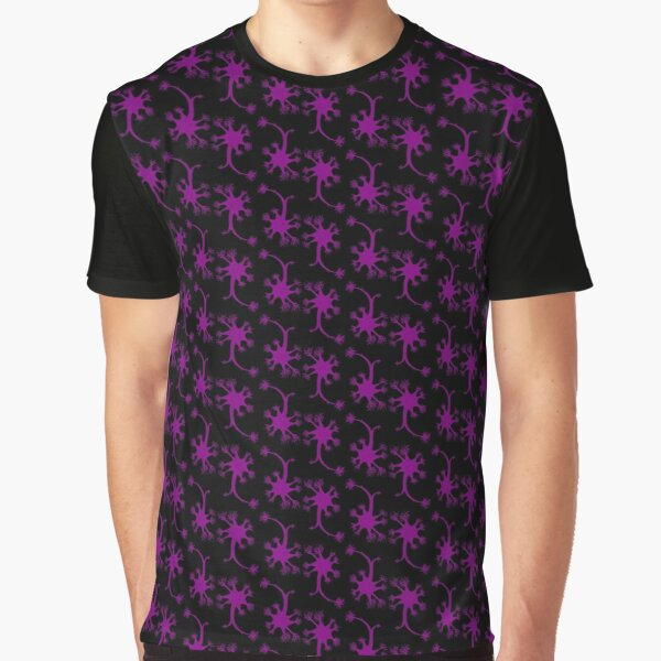 Neuron Pattern Graphic T-Shirt
