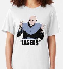 Dr. Evil,  Lasers , Austin Powers, Tshirt Slim Fit T-Shirt