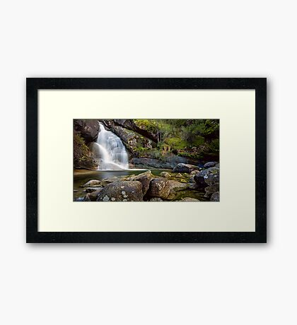 Lady Bath Falls Framed Print