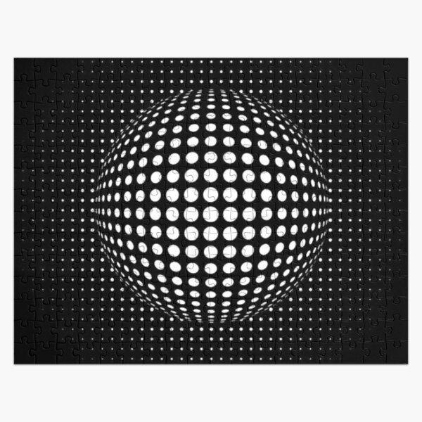 Ball Visual Illusion. Визуальная Иллюзия Шара. Jigsaw Puzzle