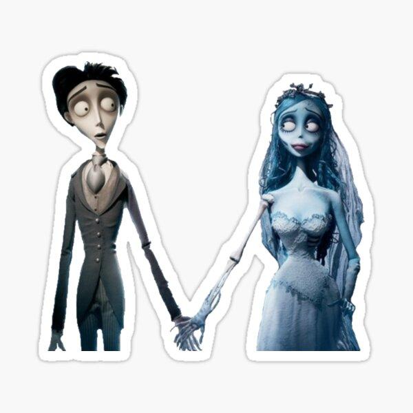 corpse bride Sticker