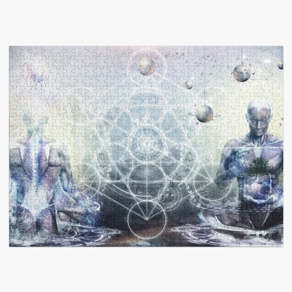 Experience So Lucid, Discovery So Clear Jigsaw Puzzle