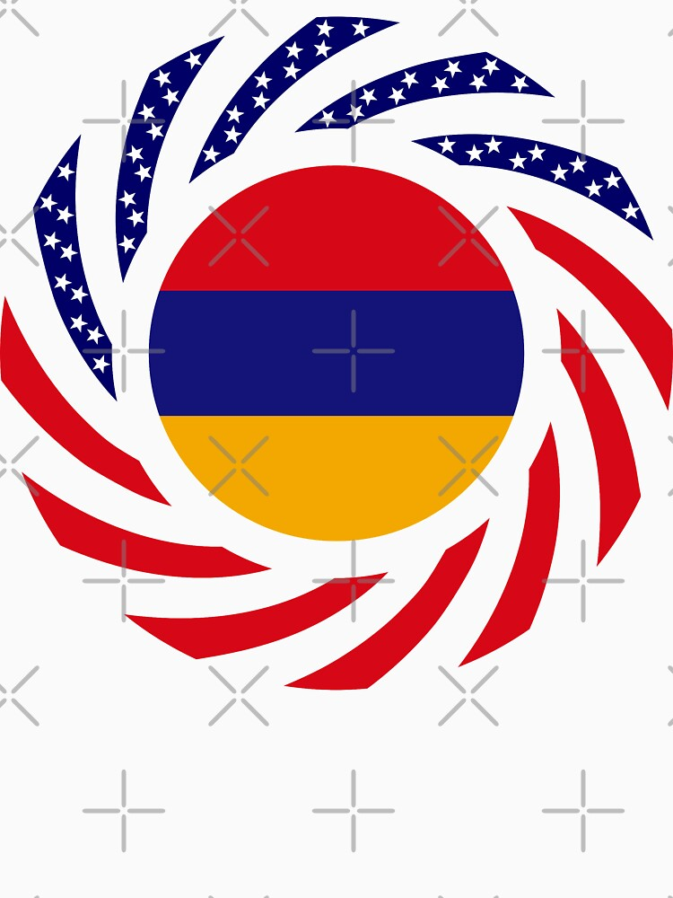 Armenian American Multinational Patriot Flag Series by carbonfibreme