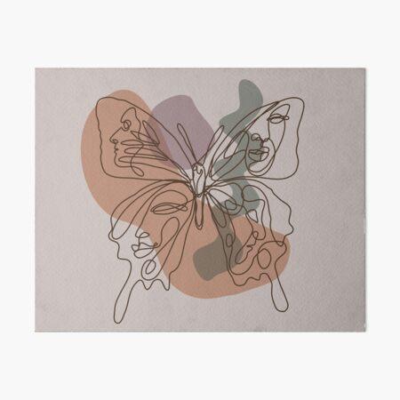 Delicate (colored) Art Board Print