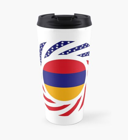 Armenian American Multinational Patriot Flag Series Travel Mug