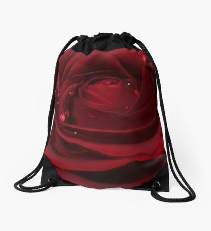 Love Hurts! - Rose Drawstring Bag