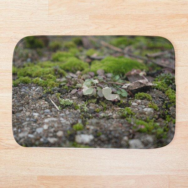 Mossy Pebble Clover Patch Bath Mat