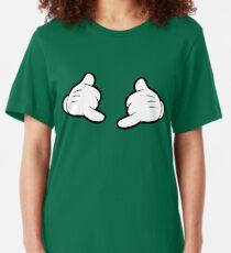 Shaka Pose Slim Fit T-Shirt