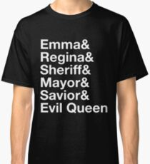 Swan Queen - Emma & Regina  Classic T-Shirt