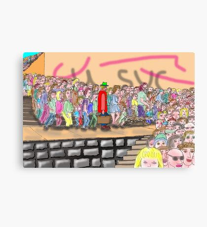 It's all about me! Canvas Print