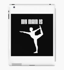 My Main Is Wii Fit Trainer - Male (Smash Bros) iPad Case/Skin