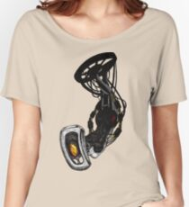 GLaDOS pinup (Original illustration) Women's Relaxed Fit T-Shirt