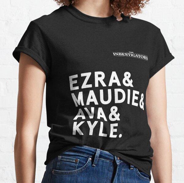 The Inbestigators T-Shirts with Logo Classic T-Shirt