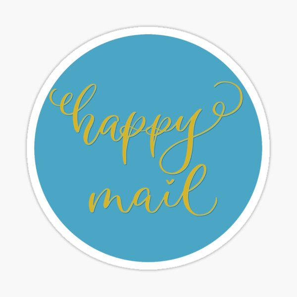 Happy Mail Sticker