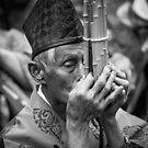 Flautist by Fernando Rosenberg
