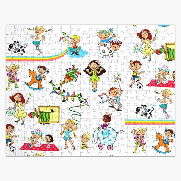 Child Cartoon Jigsaw Puzzle