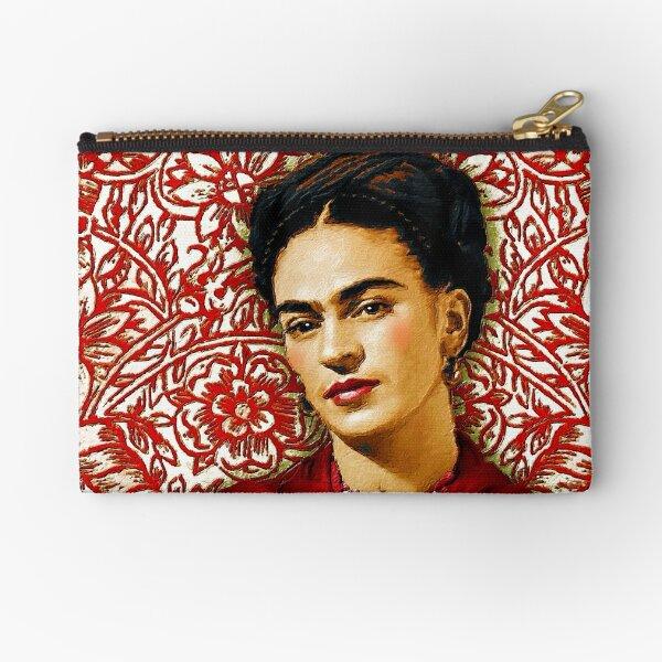 Frida Kahlo 2 Zipper Pouch