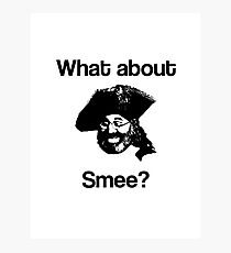 What about Smee?! Photographic Print