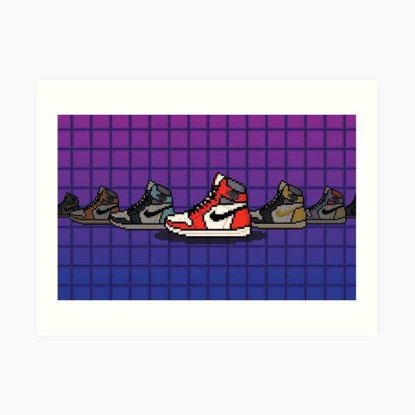 Seleccione su Air Jordan's Lámina artística