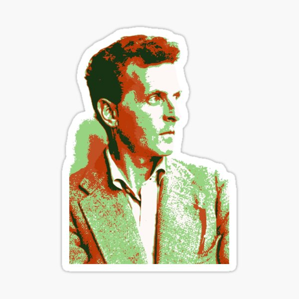 Wittgenstein - Copper/Mint Sticker