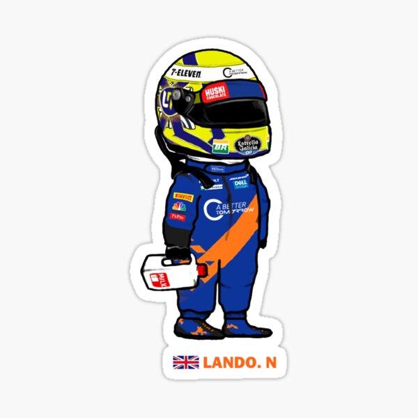 Lando Cute Norris Sticker