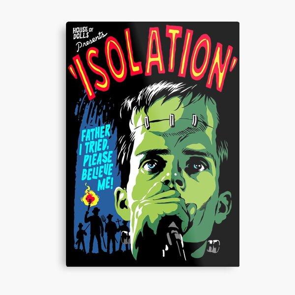 Isolation Monster Metal Print