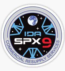SpX-9 NASA Logo Sticker