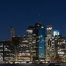 Downtown Manhattan 3x1 by Andrew Dunwoody