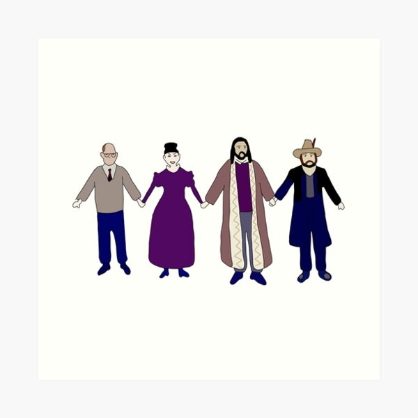 Colin Robinson's Painting - What We Do In The Shadows Art Print