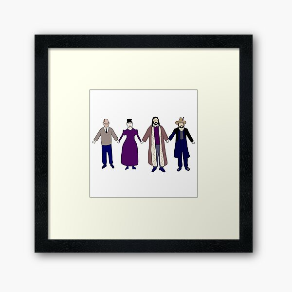 Colin Robinson's Painting - What We Do In The Shadows Framed Art Print