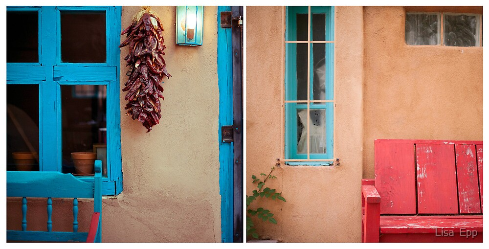 August Diptych 2014 by Lisa  Epp