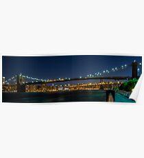 Brooklyn Bridge  3x1 Poster
