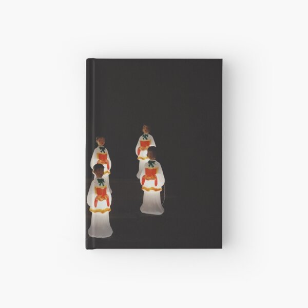 Holiday Carolers Hardcover Journal