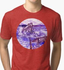 Stormy Brighton Tri-blend T-Shirt