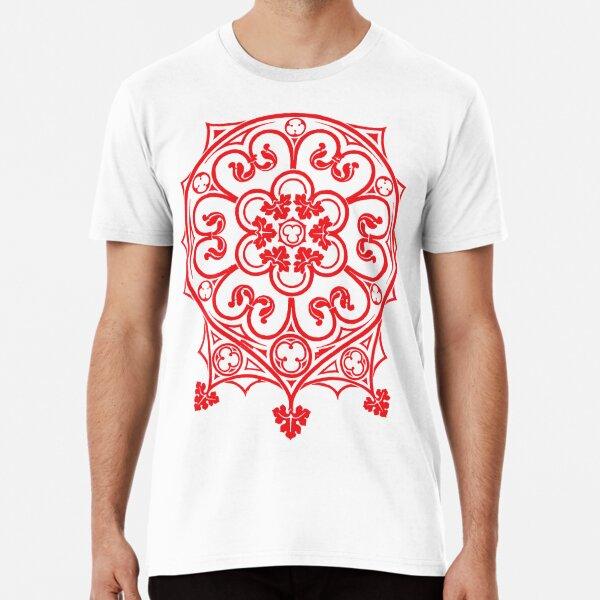 Antique Dream-Catcher Style Motif Premium T-Shirt