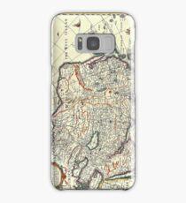 Vintage Map of Asia Circa 1626 Samsung Galaxy Case/Skin