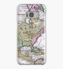 Vintage Map of America Samsung Galaxy Case/Skin