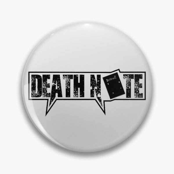 Death Note Pin