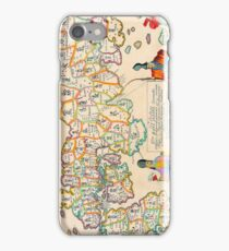 Vintage Antique Map of Japan iPhone Case/Skin