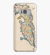 Vintage Antique Map of Japan Circa 1655 Samsung Galaxy Case/Skin